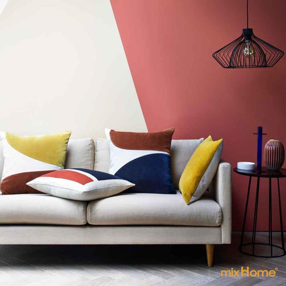 Đây là xu hướng nội thất vui nhộn, tự do lấy cảm hứng từ tác phẩm nghệ thuật biểu hiện trừu tượng