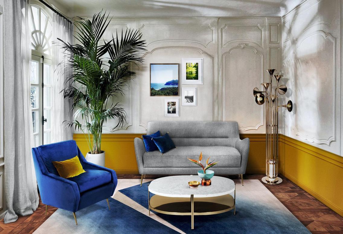 Có gì nổi bật trong những căn nhà Classic Blue của năm 2020