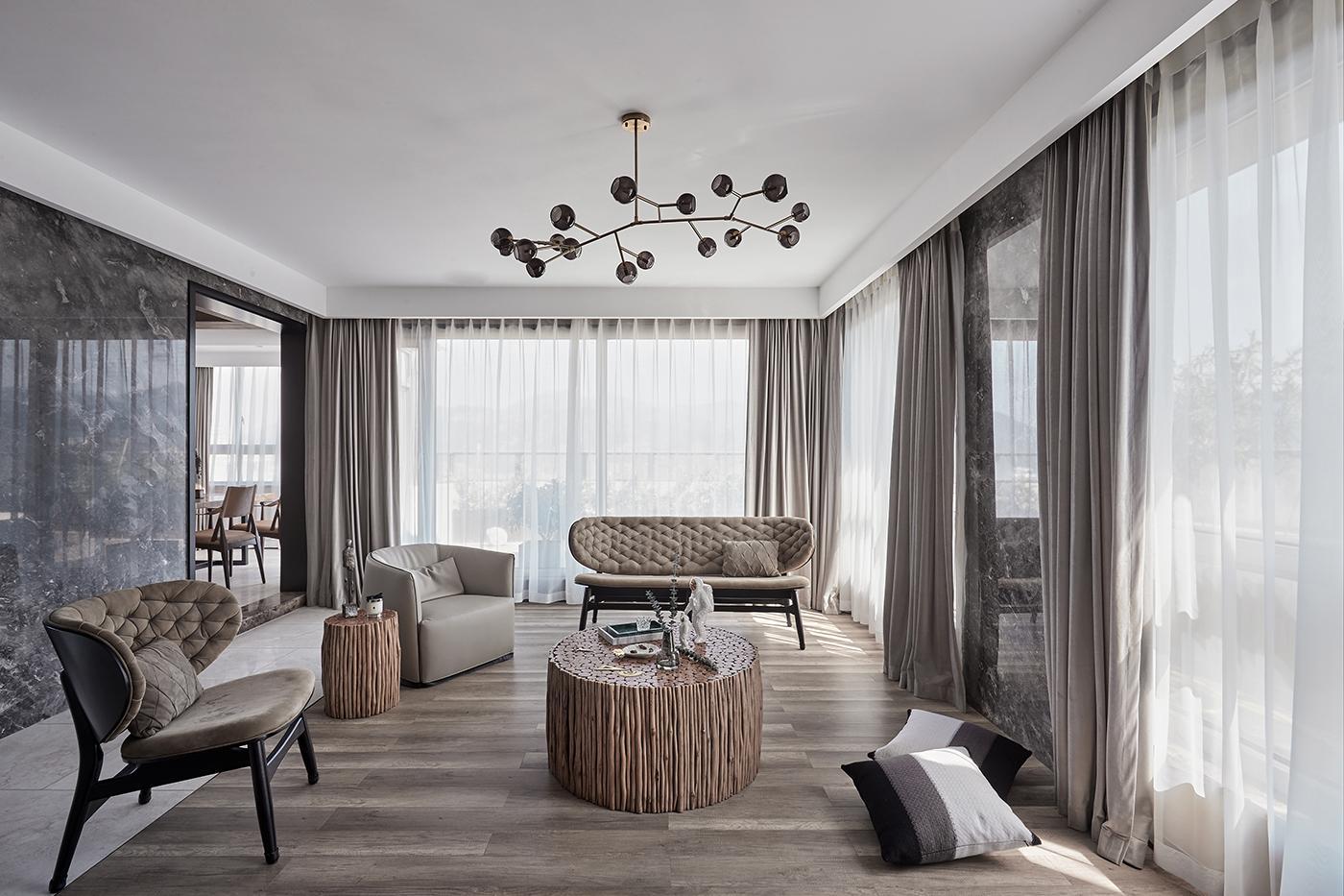 Xu hướng thiết kế nội thất phòng khách năm 2020