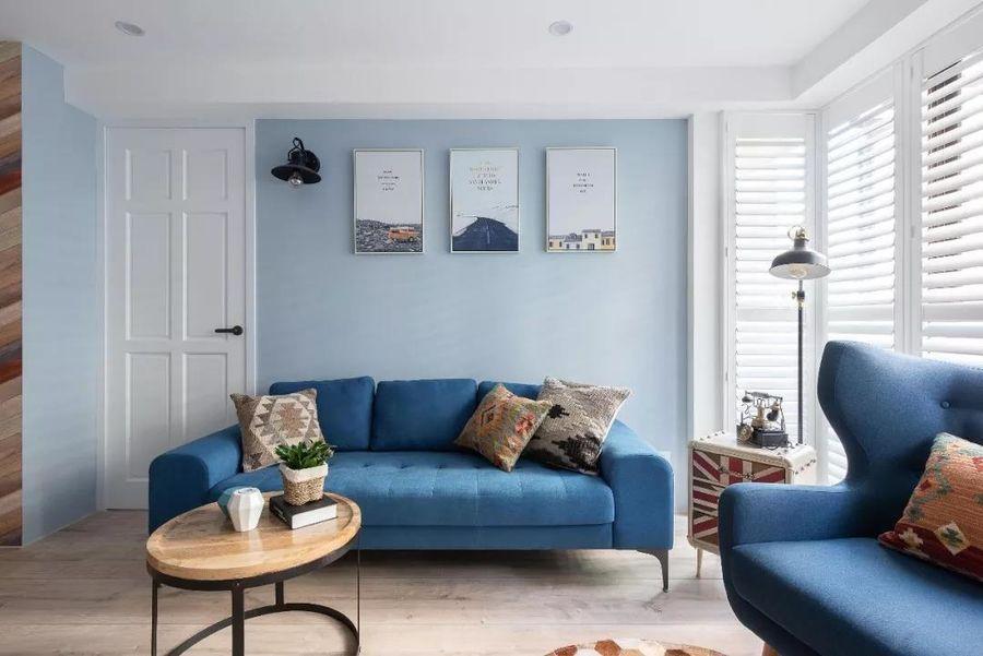 Xu hướng màu sắc nội thất được ưa chuộng - màu xanh lam
