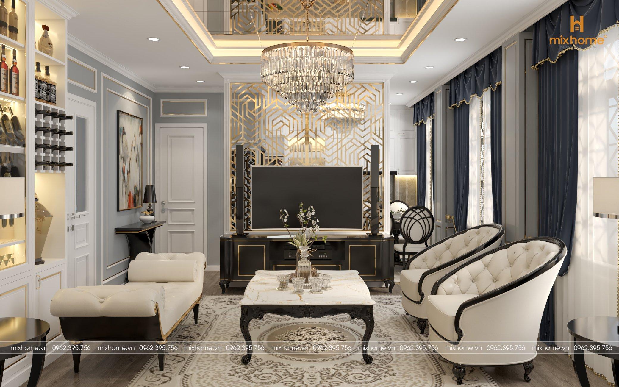 xu hướng thiết kế nội thất biệt thự