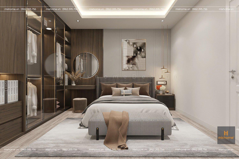 thiết kế phòng ngủ - nội thất mixhome
